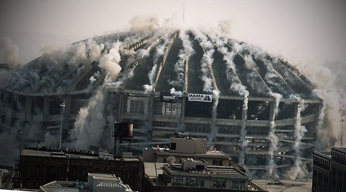 Kingdome Imploding